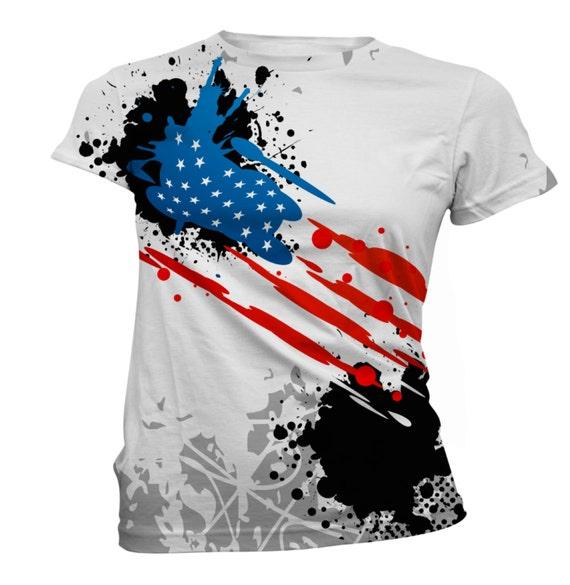 4th Of July Womens T Shirts Men 39 S T Shirts Custom By