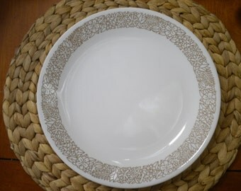 CORELLE by Corning Ware Woodland Leaves Dinner Plate