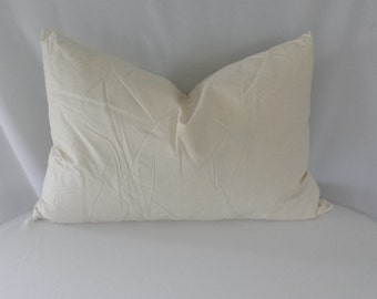 Lumbar Pillow Cover Insert