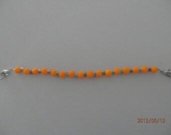 Neon Orange Watch Band