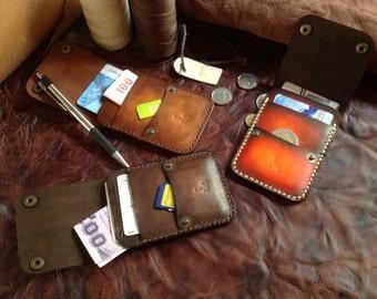 Leather Wallet Indy Card (Brown Vintage)