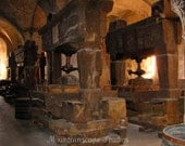 Monastery Wine Press at Kloster Eberbach Germany Photograph