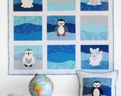 Polar Babies Quilt and Pillow PDF pattern