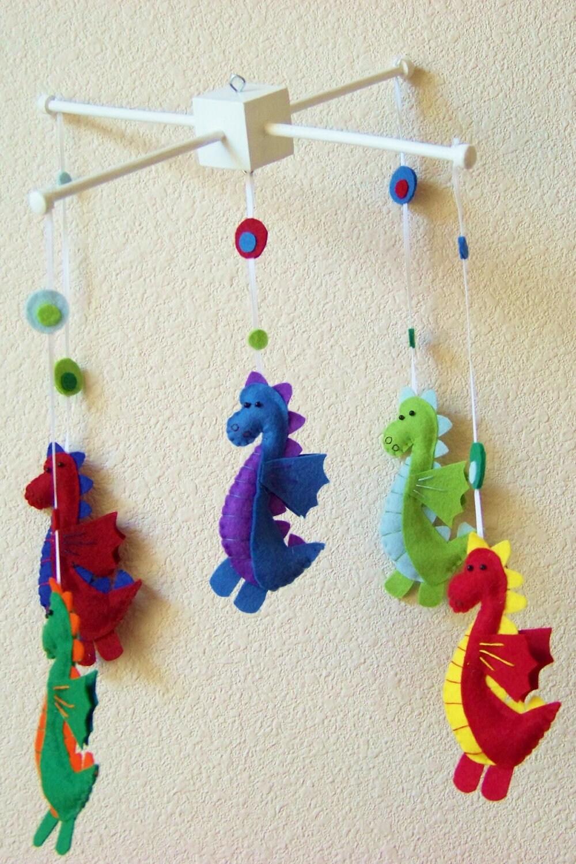 Baby Mobile Baby Crib Mobile Dragon Mobile Nursery Baby