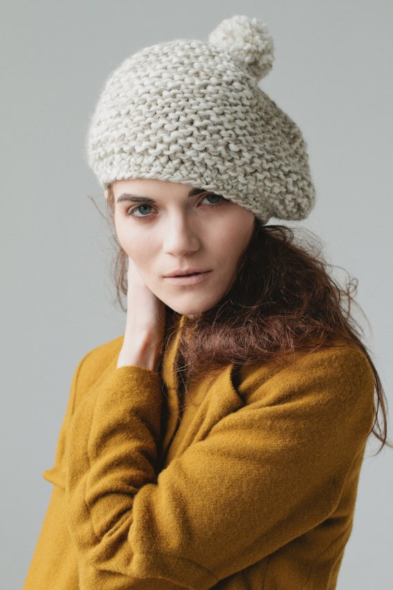 Textured Marbled Beret PDF Pattern