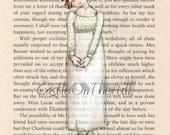 Elizabeth Bennett Pride and Prejudice Print - 5 x 7 - Jane Austen