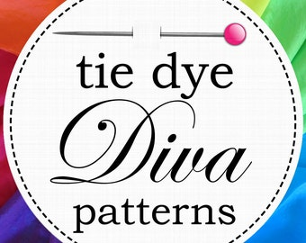Tie Dye Diva Patterns - Bloomers / Pantaloons Pattern for Girls - DIY PDF