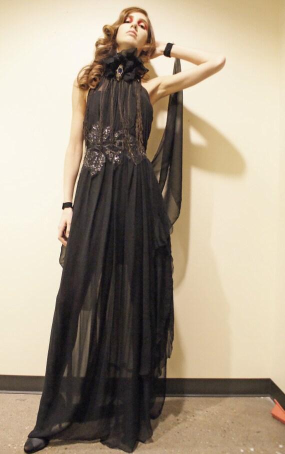 reserve norma desmond dress edith head inspired boudoir queen