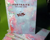 Portraits Volume One by DWITT hardcover full color art book
