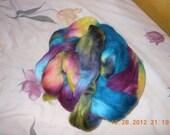Hand-dyed Finn Roving