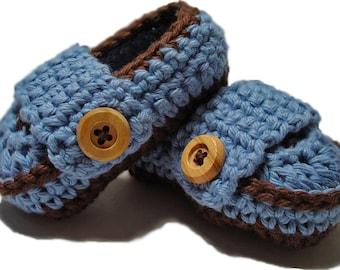 Crochet baby booties,  Baby Booties, Crochet Baby loafers, crochet baby , newborn booties, baby shoes, gender reveal