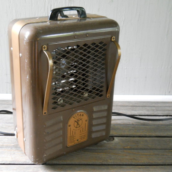 items similar to vintage electric space heater titan on etsy