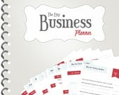 The Etsy Business Planner - BRAND NEW (Instant Download)