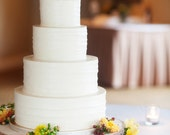 """14"""" Rustic Wood Tree Slice Wedding Cake Base or Cupcake Stand for your Event and Party or even a Newborn Photo Prop"""