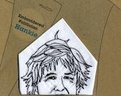 Boris Johnson Embroidered Handkerchief
