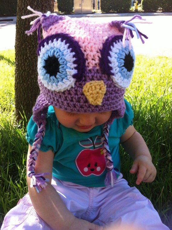 Owl Hat, Little Hoot, Made to Order, Custom
