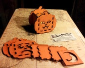 Halloween Jack O Lantern Kit for LED Tealights