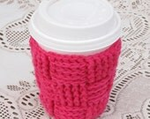 Pattern for Crochet Coffee Cup Cosy