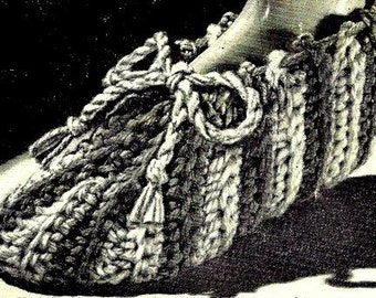 Slippers Crochet Pattern 723129