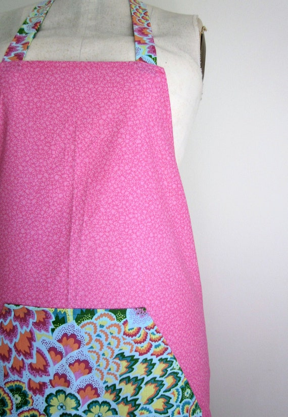 Pink Soul Blossoms Full Apron