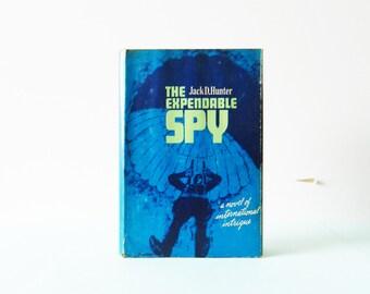 Vintage 1960s Spy Novel / Vintage Espionage Book / Vintage Spy Novel