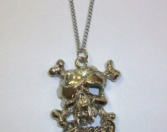 Vintage Poison Bret Michaels Rock and Roll Music Rocker Hairband Necklace Pendant DEADSTOCK