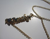HeartBreaker: Gold Tone or Silver Tone (Necklace) - LAST ONE!