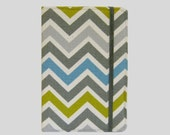 Kindle Cover Hardcover, Kindle Case, eReader, Kobo, Kindle Voyage, Kindle Fire HD 6 7, Kindle Paperwhite, Nook GlowLight Summerland Chevron