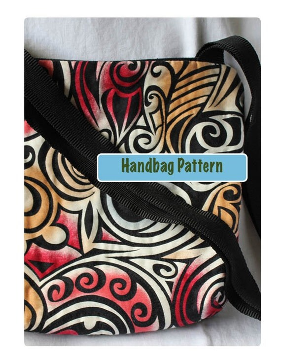 Handbag PDF Sewing Pattern