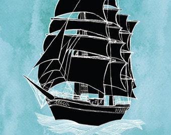 SALE: Bon Voyage card