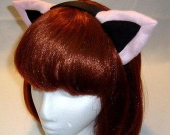 Custom Color Kitty Ear Headband