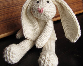 ALSAP Knit Rabbit PDF - (As Little Sewing As Possible)