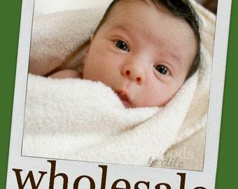 10 Yards Organic Sherpa Fluffy Baby Soft - Whole Sale Bolt -  Domestically Made GOTS CERTIFIED