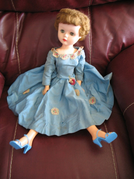 Vintage 1950 S 24 Inch Sweet Judy Doll By Deluxe Reading