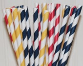 Paper Straws, 30 Paper Straws, Snow White Party Assorted Straws with DIY straw flags, Snow White parties, Disney Princess Party, Baby Shower