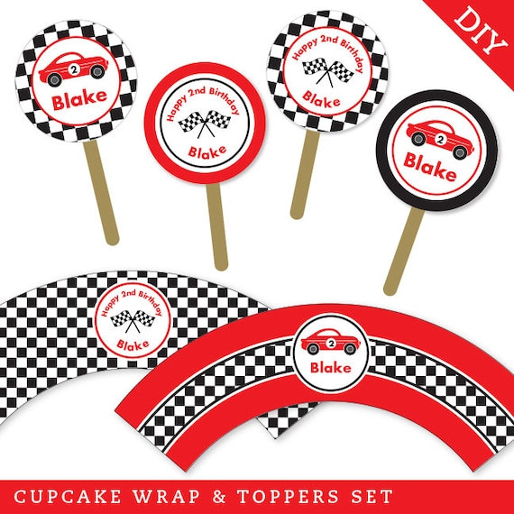 how to create a puck of chocolate for cupcake topper