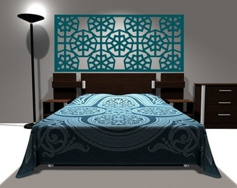 Headboard wall decal king