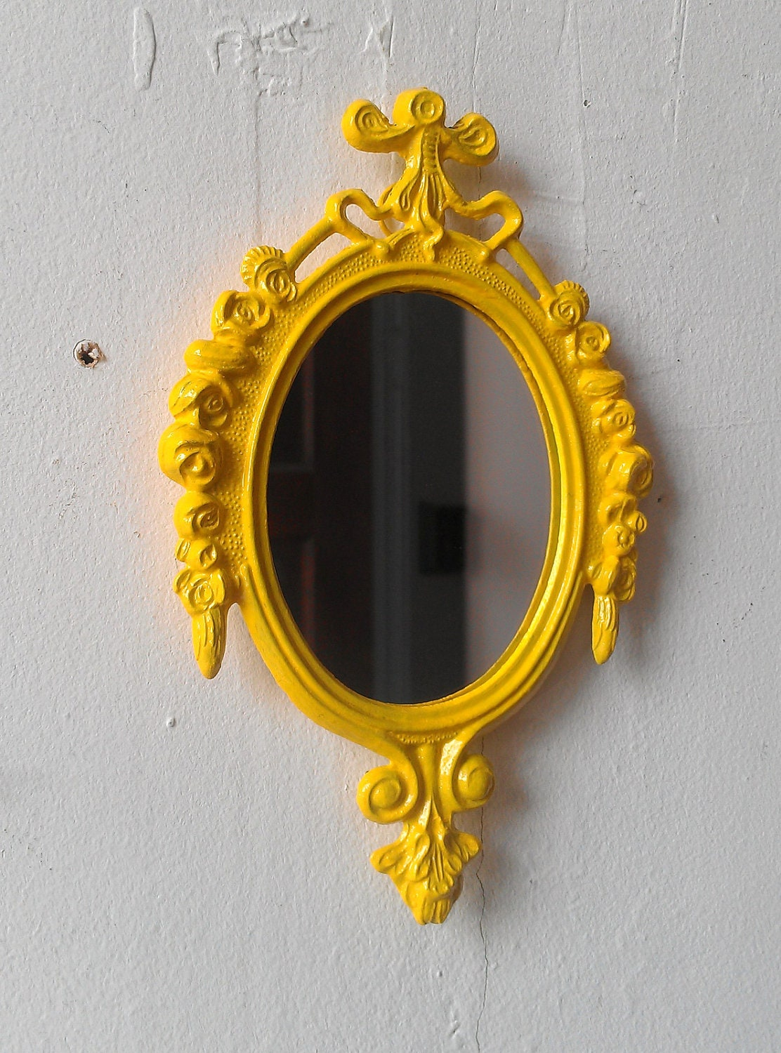 Painted Mirror Frame Bright