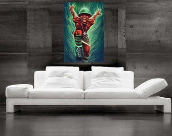 Andre 3000 Painting Outkast Pop Art Canvas Print