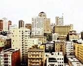 Fine Art Photograph - San Francisco - Downtown - California - City Scene - Skyscrapers