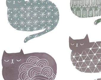Cat Loaf City by Sarah Walsh