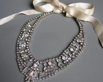 Je T'Aime Rhinestone Necklace No. 1