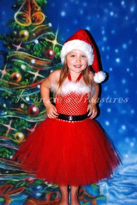 Santa Baby Tutu Dress Santa Baby Tutu Dress With