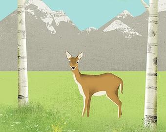 Alpine Meadow Print