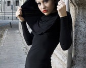 Big Hood Long sleeve dress