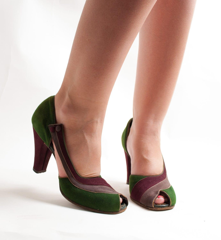 Vintage Peep Toe Shoes Uk