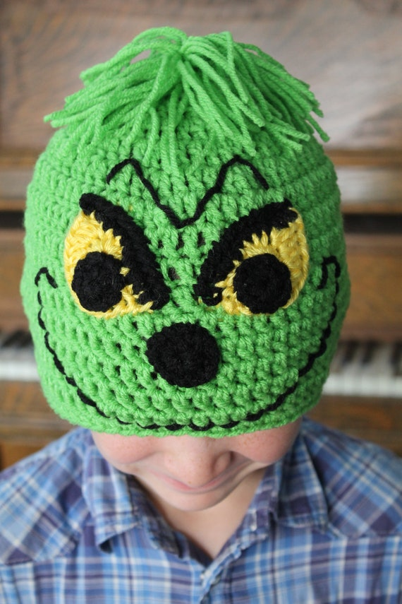 Items Similar To Grinch Christmas Hat On Etsy