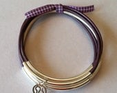 Leather bangles for Walk to End Alzheimer's
