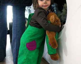 Corduroy Bear Children's Costume - A Good Day OVERALLs
