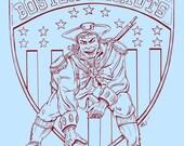 Patriots Tee - Superbowl Special Light Blue